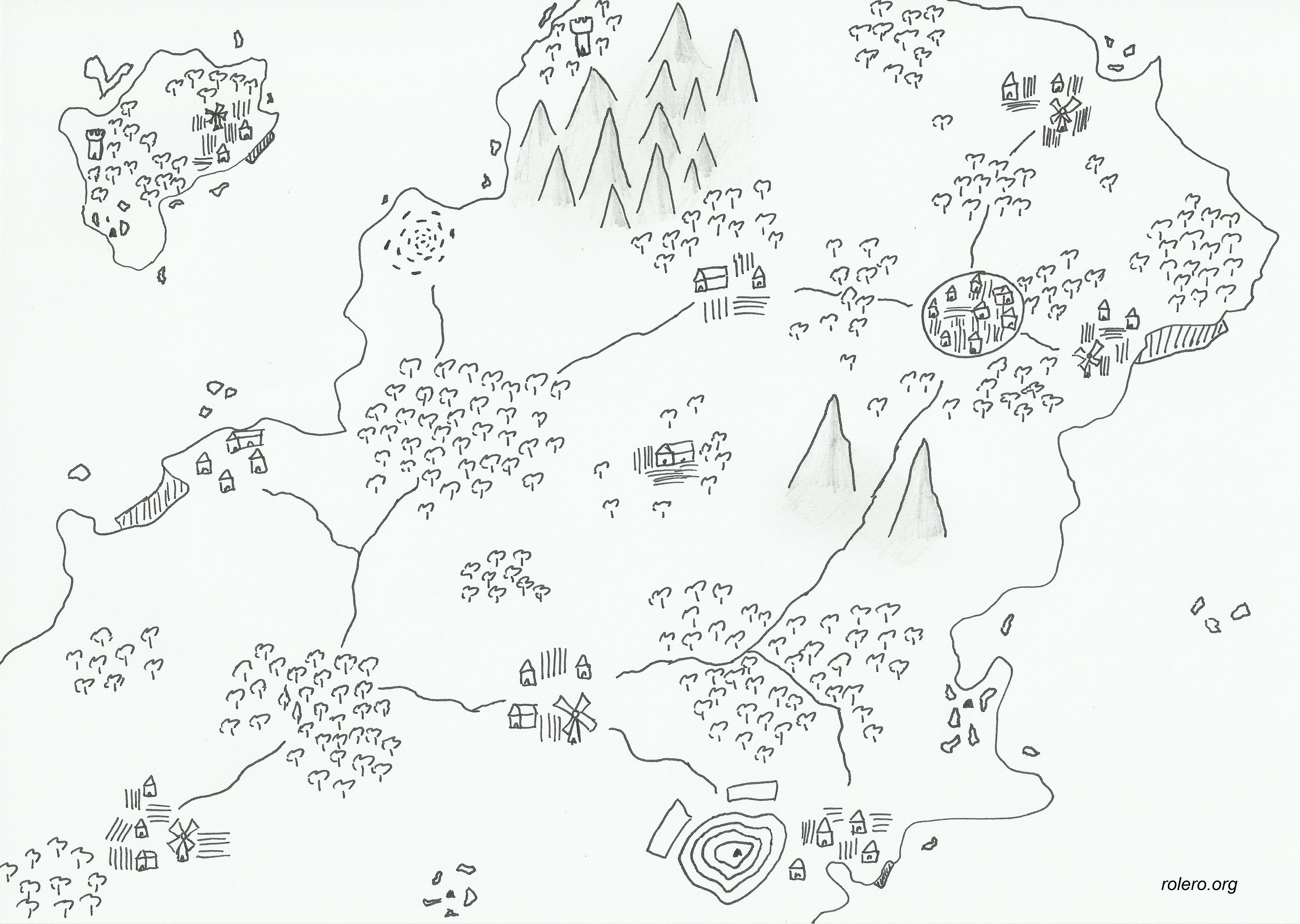 Mapa de fantasía 2