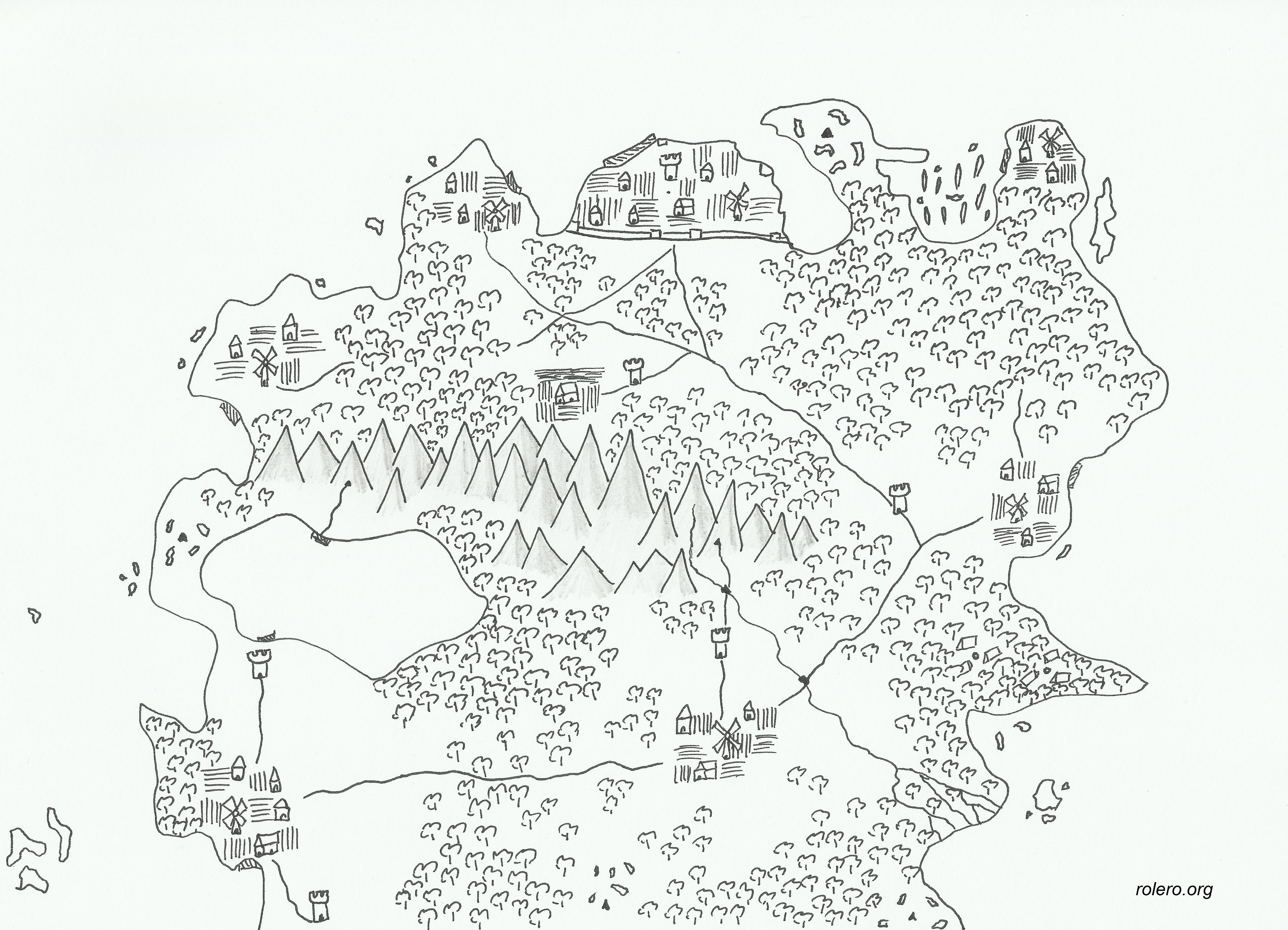 Mapa de fantasía